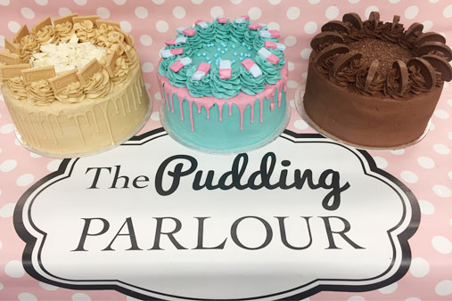 Our new sparkly website where you can order cakes online!