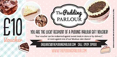 The Pudding Parlour Voucher